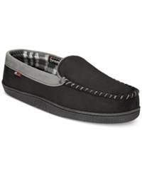 Weatherproof 32 Degrees Men's Slippers Trimmed Tongue Moccasins