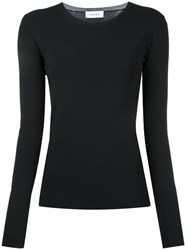 Irene Crew Neck Jumper Black
