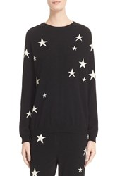 Chinti And Parker Women's Star Knit Cashmere Sweater