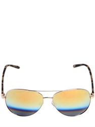 Linda Farrow Matthew Williamson Aviator Sunglasses