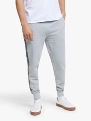 Tommy Hilfiger Repeat Logo Tape Joggers Grey Heather