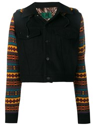 Jean Paul Gaultier Vintage 1990 Knitted Jacket Black
