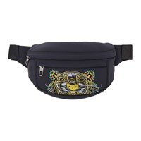 Kenzo Grey Limited Edition Dragon Tiger Bum Bag