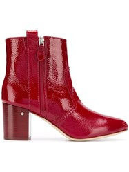 Laurence Dacade Silane Boots Red
