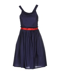 Lavand. Dresses Short Dresses Women Dark Blue