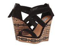 Not Rated Remi Black Women's Wedge Shoes