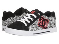 Dc Chelsea Se W Black White Red Women's Skate Shoes