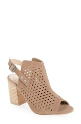 Sole Society Women's Rena Slingback Bootie Taupe