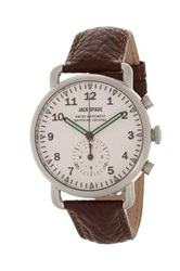 Jack Spade Men's Frasier Chronograph Watch Brown