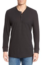 James Perse Men's Cotton And Linen Henley