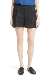 Vince Women's High Waist Cotton Shorts