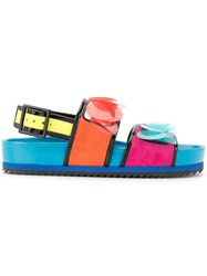 Kat Maconie Jean Colour Block Sandals Multicolour