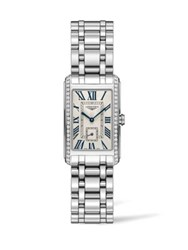 Longines Stainless Steel Bracelet Rectangle Watch No Color
