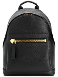 Tom Ford Medium Buckley Backpack Black