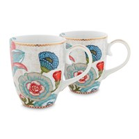 Pip Studio Spring To Life Mug Large Set Of 2 Cream