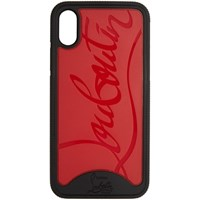 Christian Louboutin Red And Black Loubiphone Sneakers Iphone X Case
