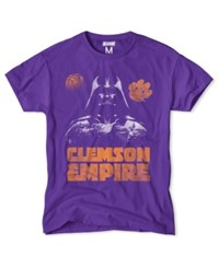 Tailgate Clothing Men's Clemson Tigers Darth Vader Empire T Shirt