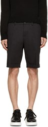 Dolce And Gabbana Black Cuffed Shorts
