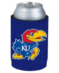 Kolder Kansas Jayhawks Glitter Can Insulator Team Color