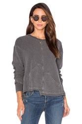 Wilt Big Pockets Shifted Sweatshirt Gray