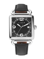 Links Of London Driver Black Dial Watch