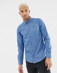 Voi Jeans Shirt In Denim Blue