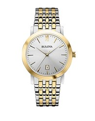 Bulova Mens Two Tone Dress Collection Watch