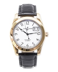 Classic Ulysse Nardin Men's Chronometer Gold Watch Nm Watch Collection By Crown And Caliber