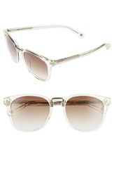 Jack Spade 'Strickland' 53Mm Retro Sunglasses Crystal Brown Gradient