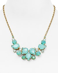 Sorrelli Swarovski Crystal Statement Necklace 16 Green Gold