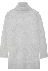 Proenza Schouler Oversized Stretch Cashmere Blend Turtleneck Sweater