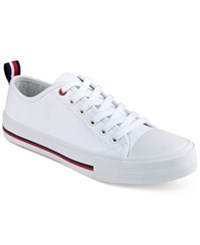 Tommy Hilfiger Tayla Lace Up Sneakers Women's Shoes White