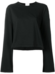 Lost And Found Rooms Wide Sleeve T Shirt Black