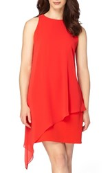 Tahari Women's Asymmetrical A Line Dress