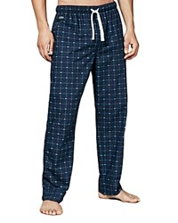 Lacoste Crocodile Print Lounge Pants Navy