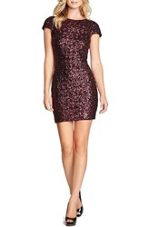 Women's Dress The Population Scooped Back Sequin Body Con Dress