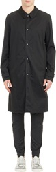 Lanvin Lightweight Single Breasted Trench Coat Black Size 52 Eu