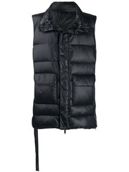 Unravel Project Padded Gilet Black
