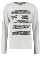 Only And Sons Onsgasper Sweatshirt Light Grey Melange