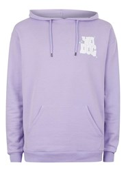 Topman Purple Yo Dog Print Long Sleeve Hoodie