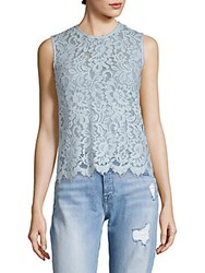 Set Sleeveless Lace Blouse Air