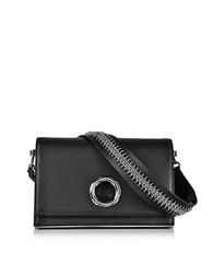 Alexander Wang Black Leather Riot Convertible Clutch W Chain Strap