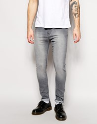New Look Super Skinny Jeans Grey