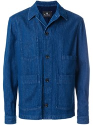 Paul Smith Ps By Chore Denim Jacket Blue