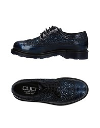 Cult Lace Up Shoes Dark Blue