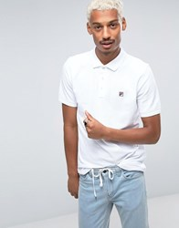 Fila Polo Shirt White