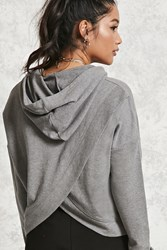 Forever 21 French Terry Split Back Hoodie