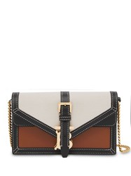 Burberry Tb Envelope Clutch Neutrals