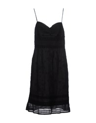 Clips Dresses Short Dresses Women Black