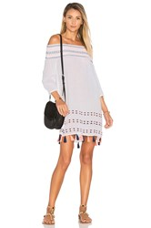 Shoshanna Off Shoulder Tunic White
